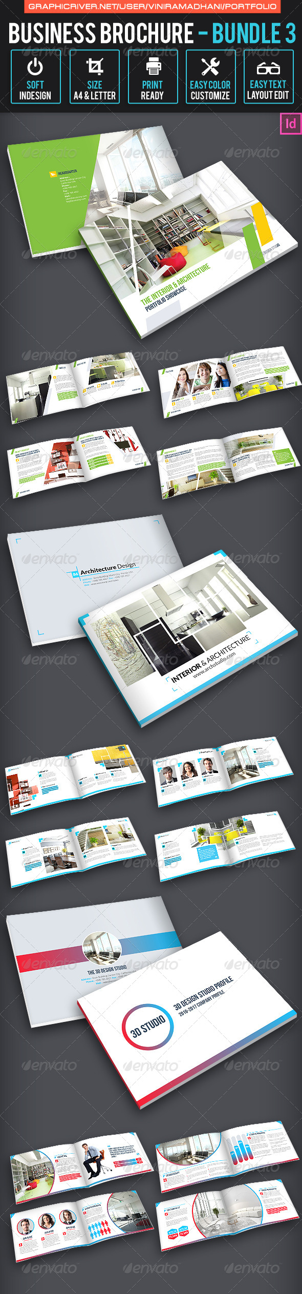 GraphicRiver Portfolio Brochure bundle 1 7325264