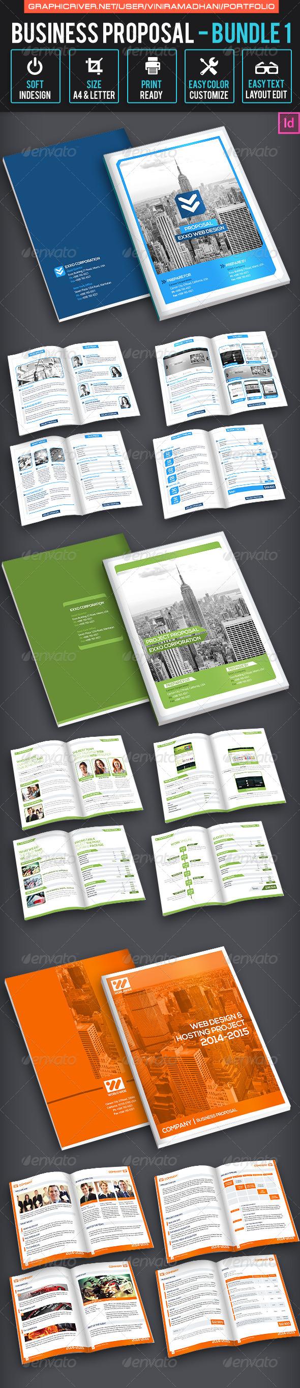 GraphicRiver Business Proposal Bundle 1 7325431