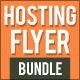 Hosting Flyer Bundle 1 - GraphicRiver Item for Sale