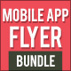Mobile App Flyer Bundle 1 - GraphicRiver Item for Sale