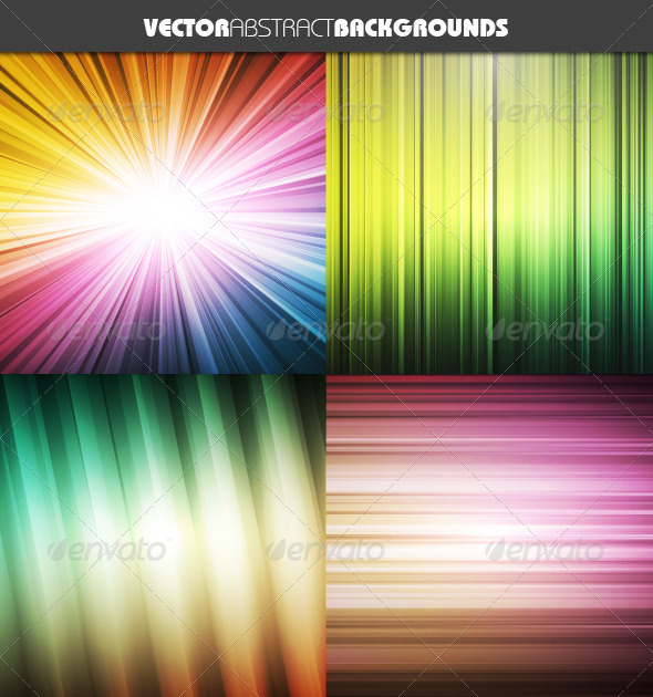 GraphicRiver Vector Abstract Backgrounds 7325675