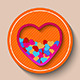 Vector Love Heart - GraphicRiver Item for Sale