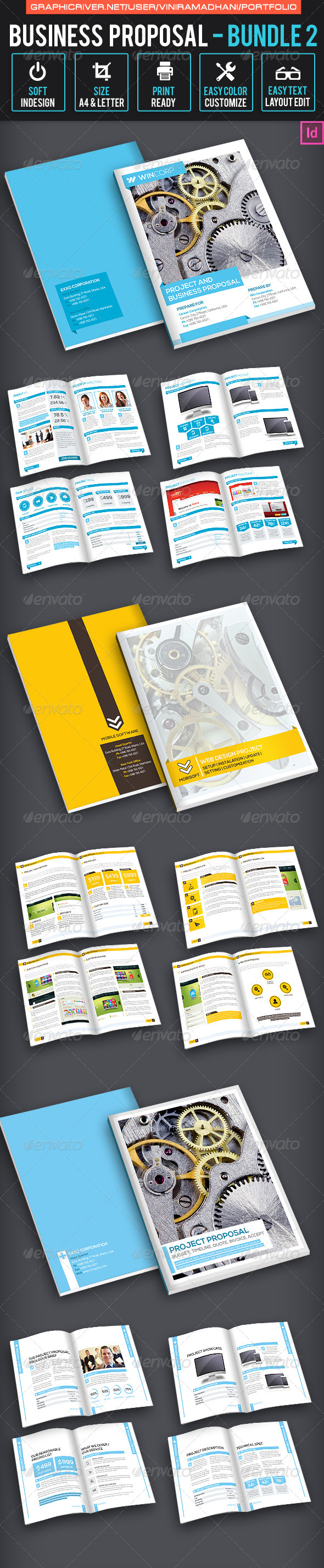 GraphicRiver Business Proposal Bundle 2 7325913