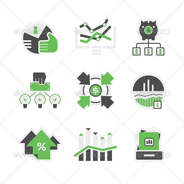 GraphicRiver Business Analysis Icons 7326020