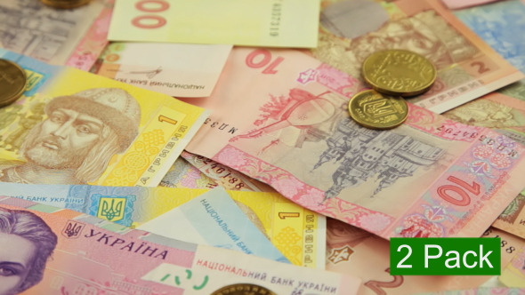 VideoHive Ukrainian Money 2-Pack 7326550