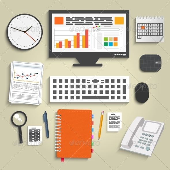 GraphicRiver Business Work Elements 7326862