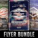 Vintage Flyer Bundle - GraphicRiver Item for Sale