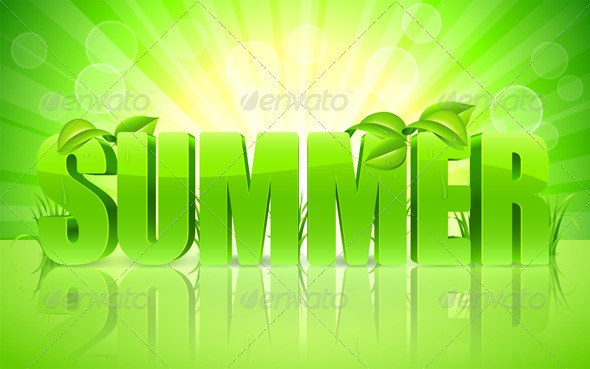 GraphicRiver Summer Background 7327913