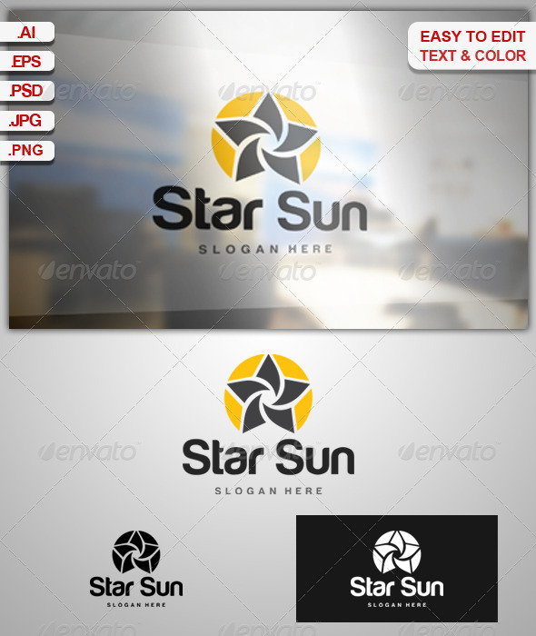 GraphicRiver Star Sun 7328202