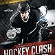 Hockey Clash Flyer Template - GraphicRiver Item for Sale