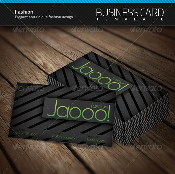 GraphicRiver Fashion Business Card 103074