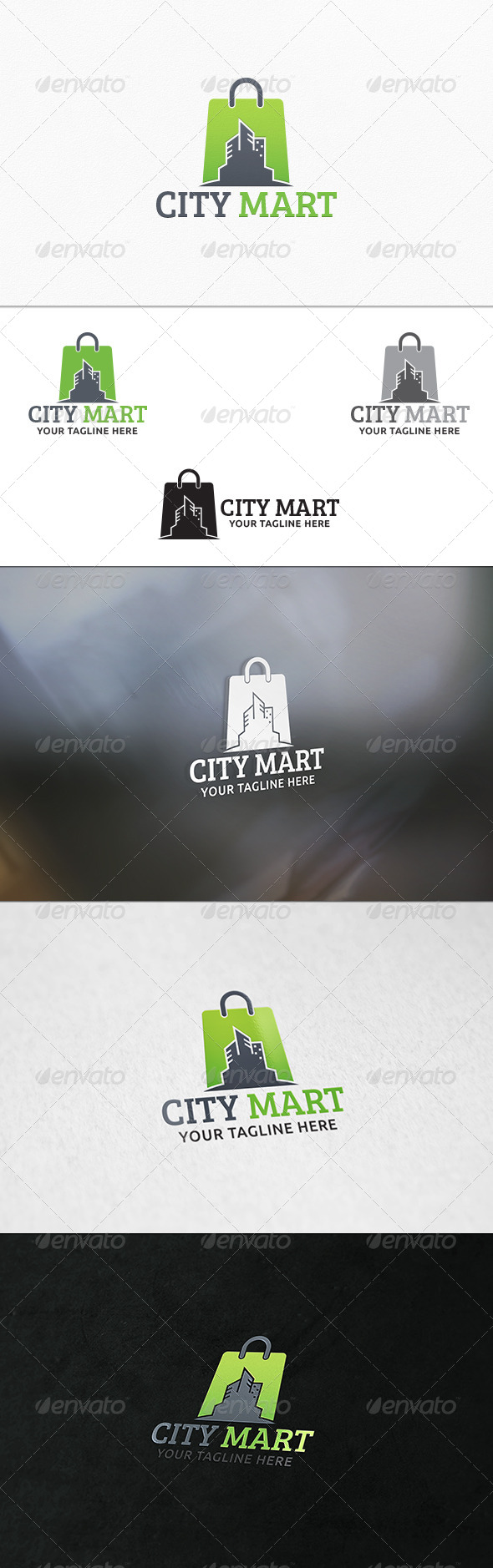 GraphicRiver City Shop Logo Template 7328415