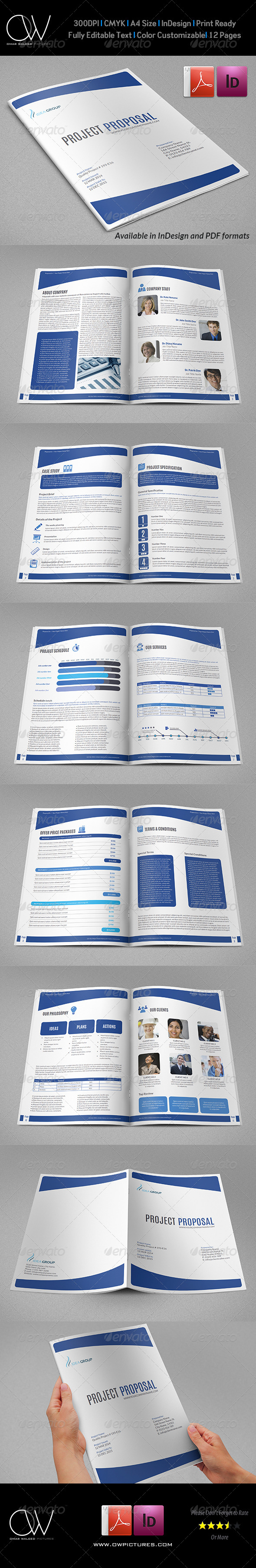 GraphicRiver Company Proposal Template 12 Pages 7328733