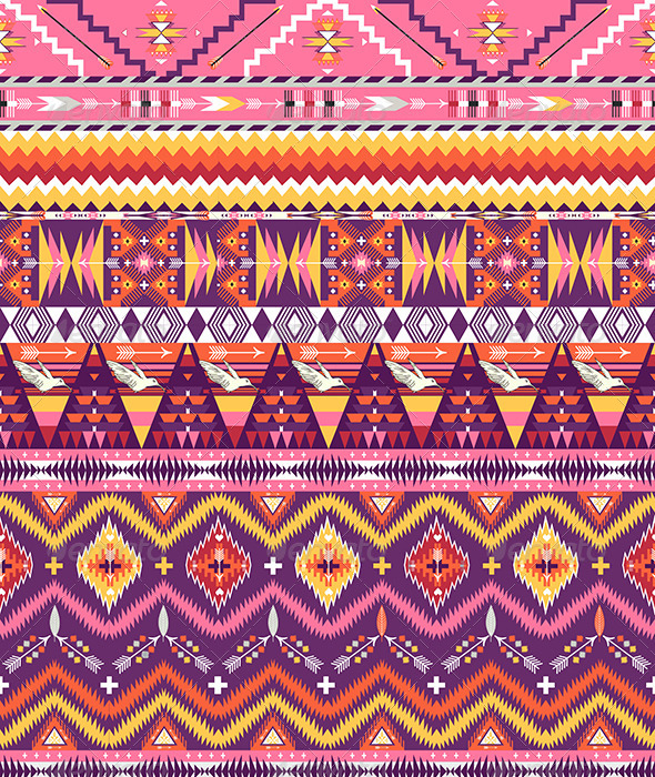 GraphicRiver Aztec Geometric Seamless Pattern 7328972