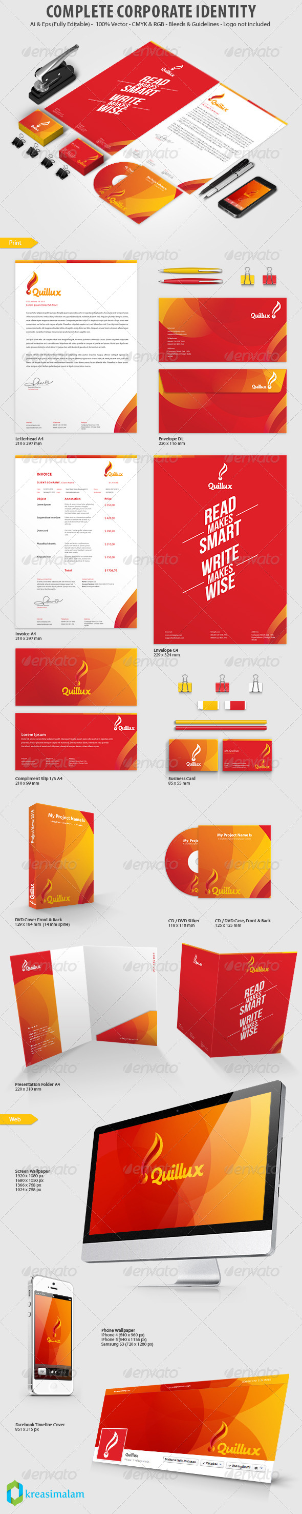 GraphicRiver Quillux Corporate Identity Print Template 7329247