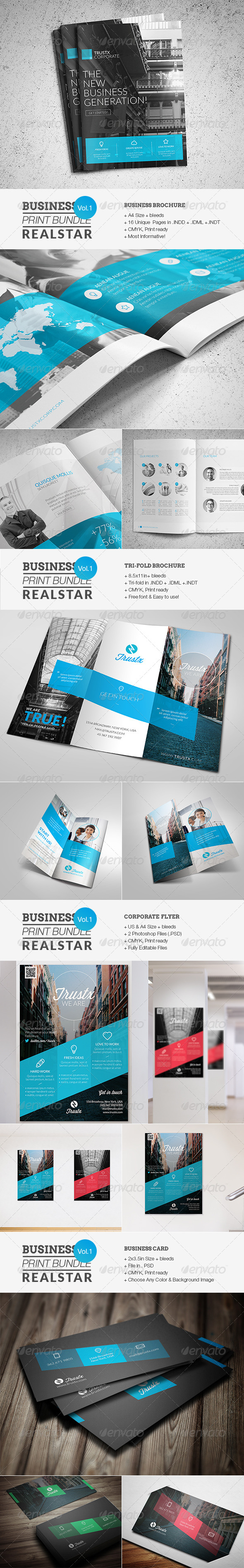 GraphicRiver Business Print Bundle 7329614
