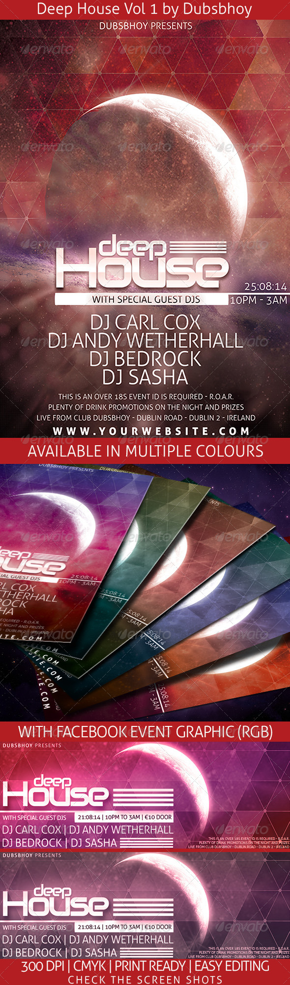 GraphicRiver Deep House Vol.1 7330443