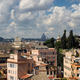 Rome panorama with roof gardens and st Peter church - PhotoDune Item for Sale