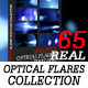 Real Optical Flares Footage Collection - (65 Pack) - VideoHive Item for Sale