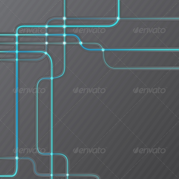 GraphicRiver Abstract Technical Hitech Grunge Background 7331798