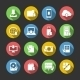 Internet Download Symbols Icons Set - GraphicRiver Item for Sale