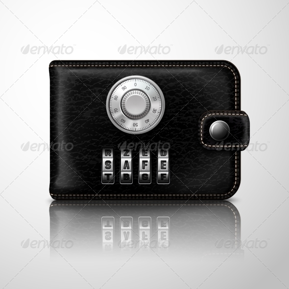GraphicRiver Wallet Locked with Combination Code 7332112