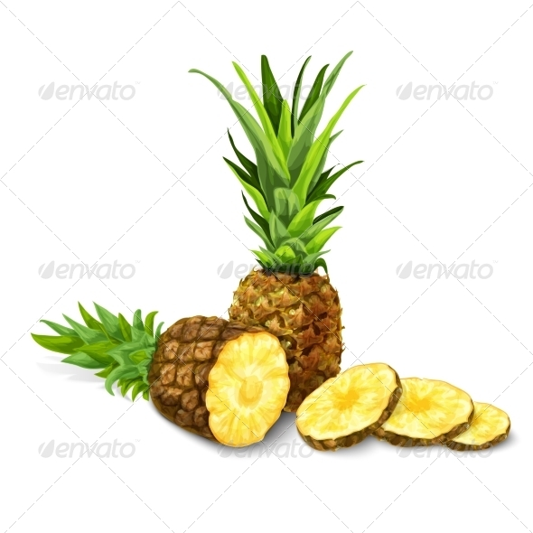 GraphicRiver Pineapple 7332179