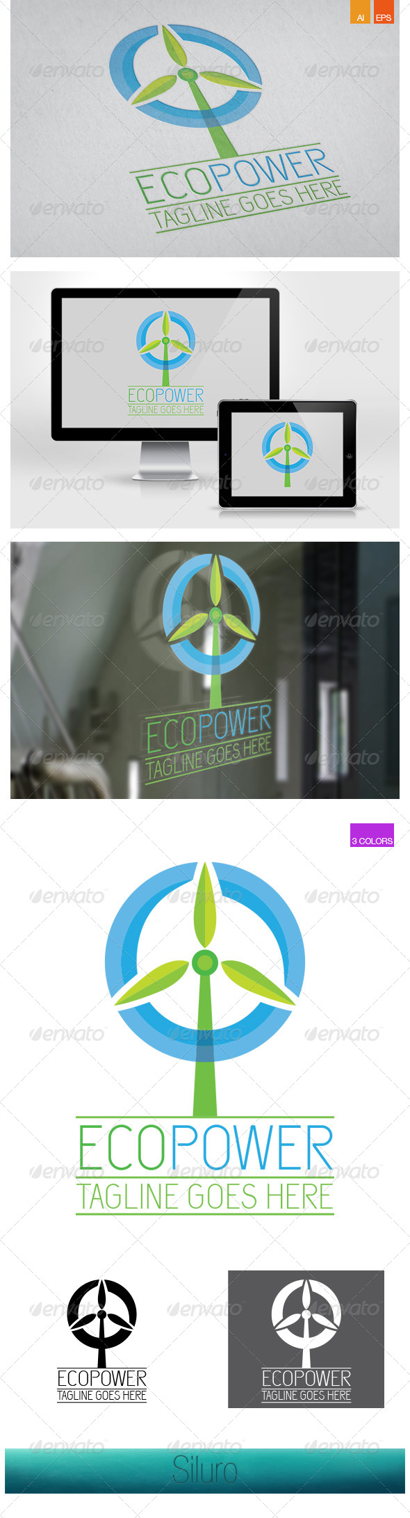 GraphicRiver EcoPower 7332877