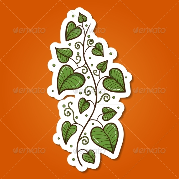 GraphicRiver Green Plant Flower 7333654