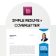 Resume & Coverletter - GraphicRiver Item for Sale