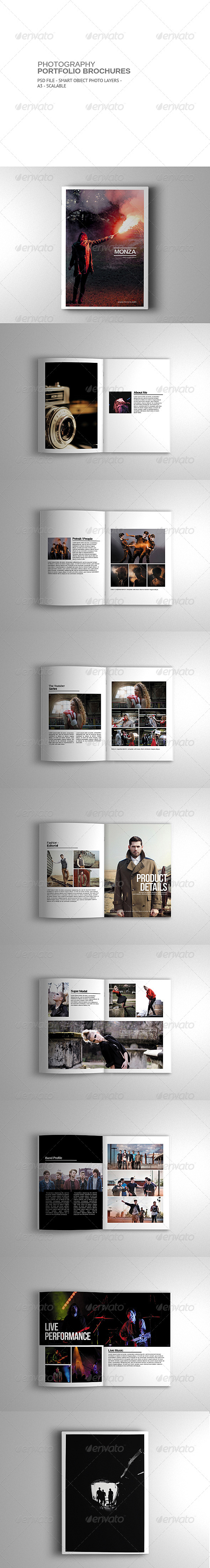 GraphicRiver Photography Portfolio Brochure 7334392