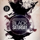 Black Saturday Flyer Template - GraphicRiver Item for Sale