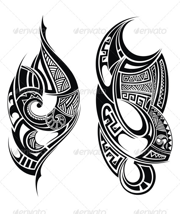 GraphicRiver Tribal Tattoo 7335310