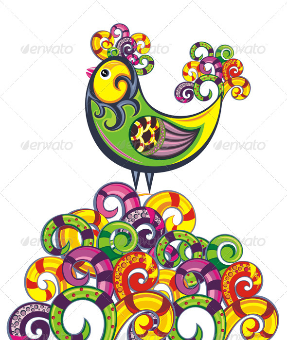 GraphicRiver Easter Illustration 7335319
