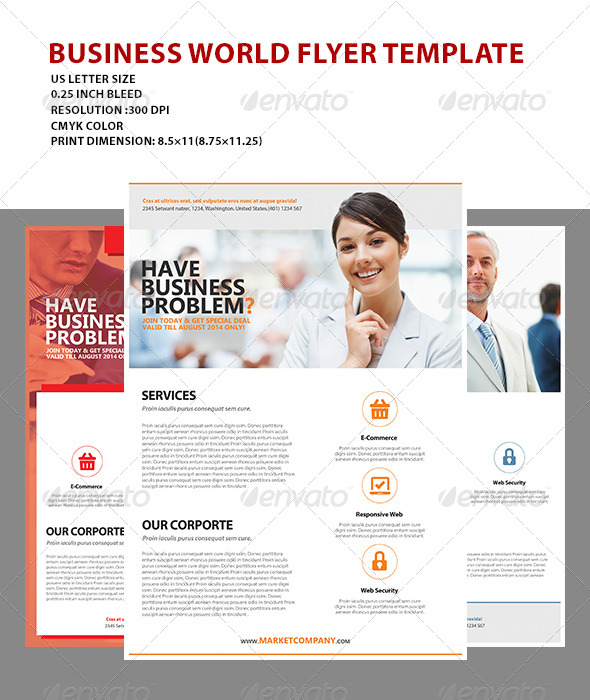 GraphicRiver Business Flyer Template 7335320