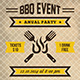 BBQ Party Flyer Poster - GraphicRiver Item for Sale