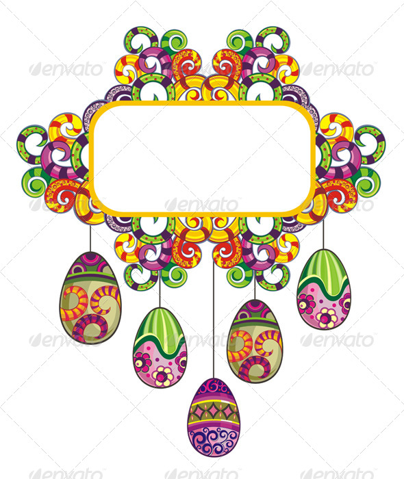 GraphicRiver Easter Eggs 7335327
