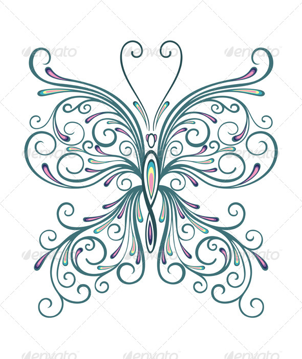 GraphicRiver Butterfly 7335338
