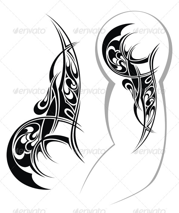 GraphicRiver Tattoo Design 7335543