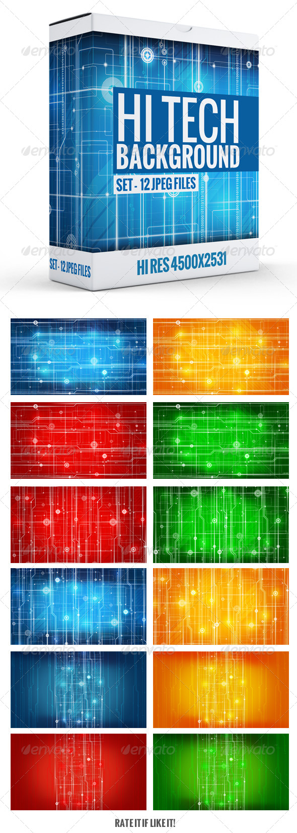 GraphicRiver Hi-Tech Background 7335673