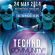 Techno Community Flyer Template - GraphicRiver Item for Sale