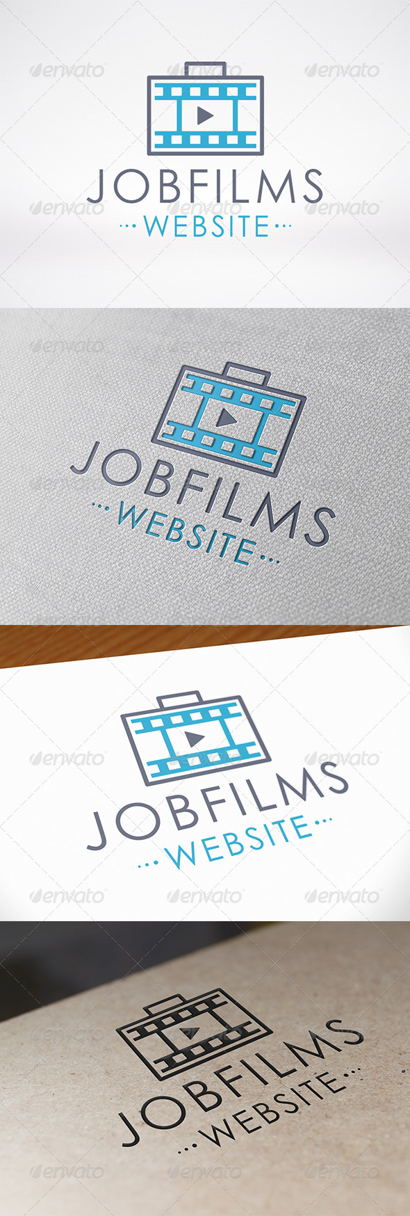 GraphicRiver Job Films Logo Template 7336145