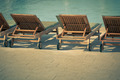 Hotel Poolside Chairs with Sea view - PhotoDune Item for Sale
