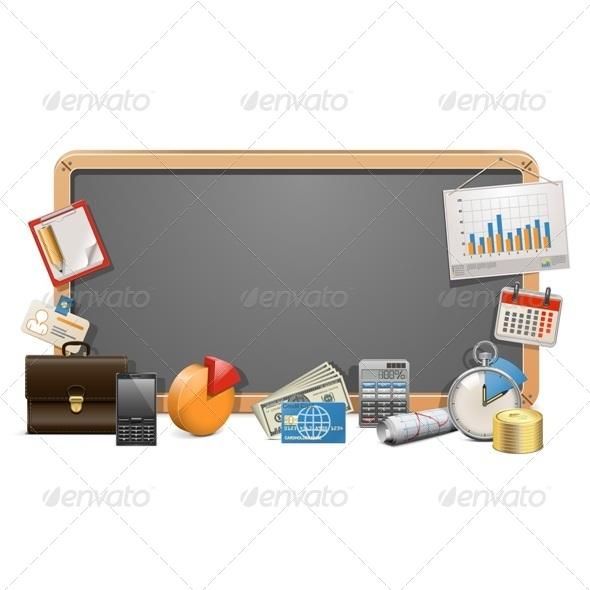 GraphicRiver Vector Business Board 7336313