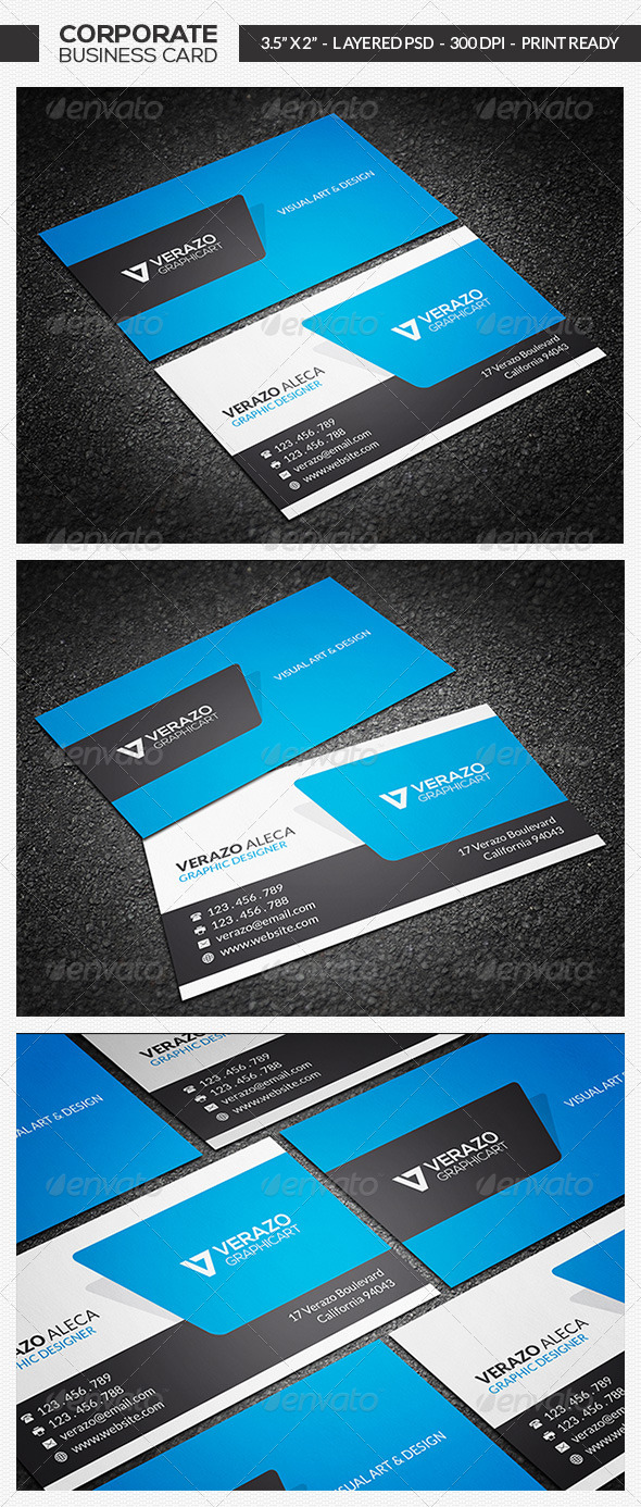 GraphicRiver Modern Business Card 17 7336427