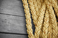 Vintage nautical knots background with copy-space. Marine sea ro - PhotoDune Item for Sale