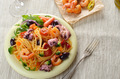 Seafood spaghetti marinara pasta dish - PhotoDune Item for Sale
