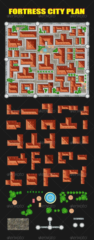GraphicRiver Ancient City 7337465