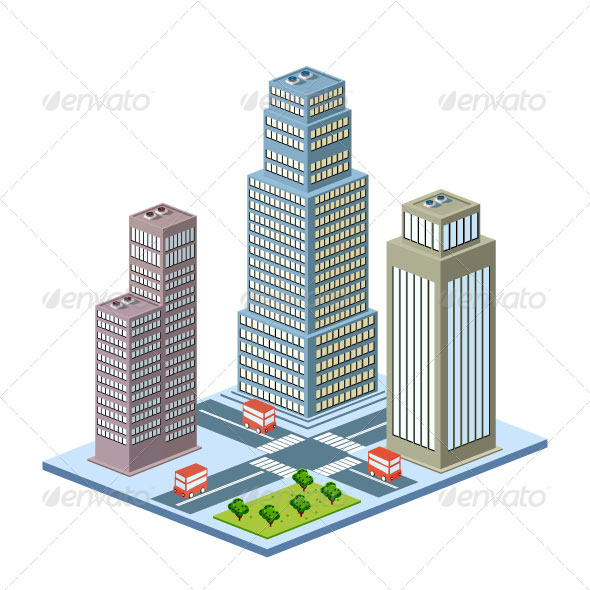GraphicRiver Skyscraper 7337511
