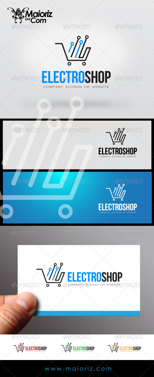 GraphicRiver Electro Shop Logo 7337529